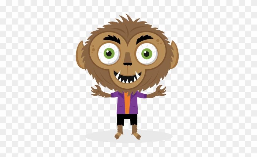 Halloween Werewolf Clipart - Halloween Werewolf Clipart #292300