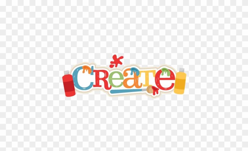 Create Title Svg Scrapbook Cut File Cute Clipart Files - Clip Art #292303