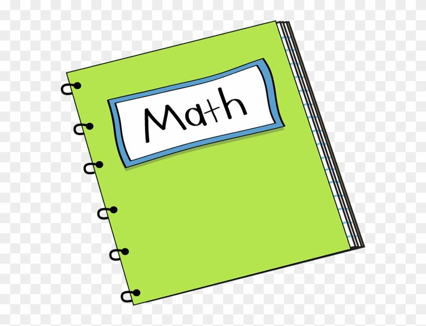 Assignment Notebook Clipart - Math Clipart Transparent #292324