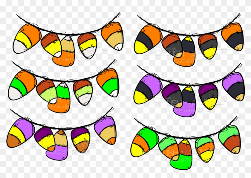 Candy Corn Bunting Created By Rz Alexander, Embellish - Candy Corn Bunting Created By Rz Alexander, Embellish #292323