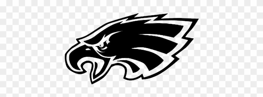 Philadelphia Eagles Png Photos - Black-and-white Hawk-eagle #292364