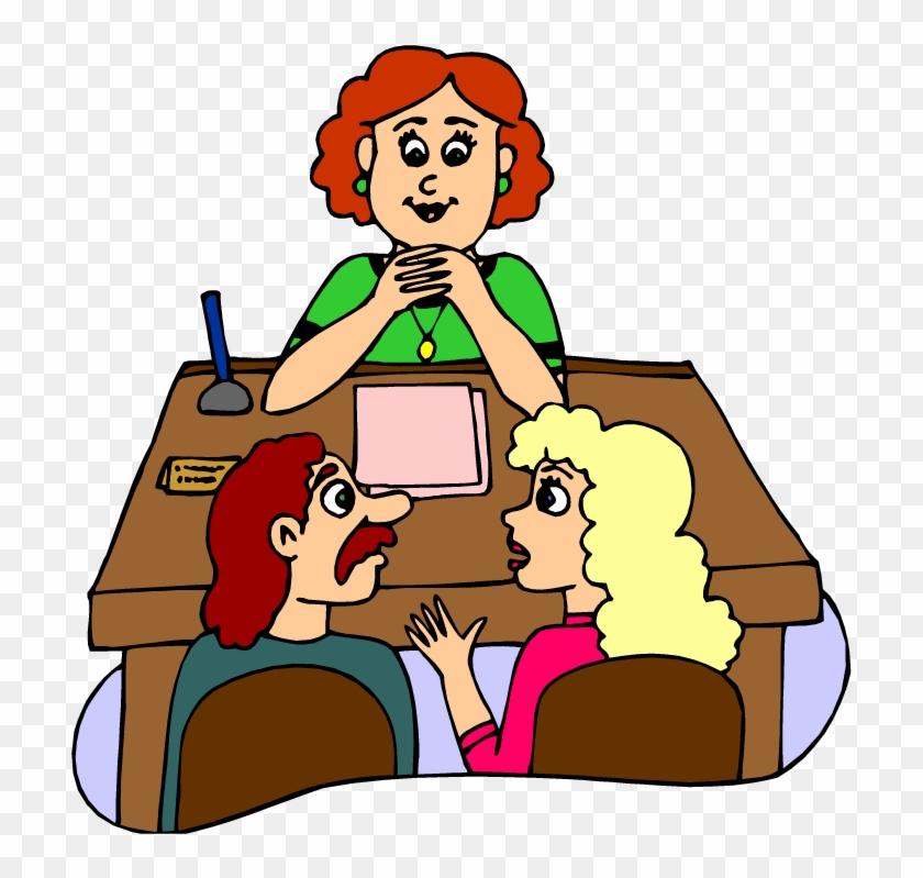 Parent Teacher Conference - Parents Meeting At School #292377