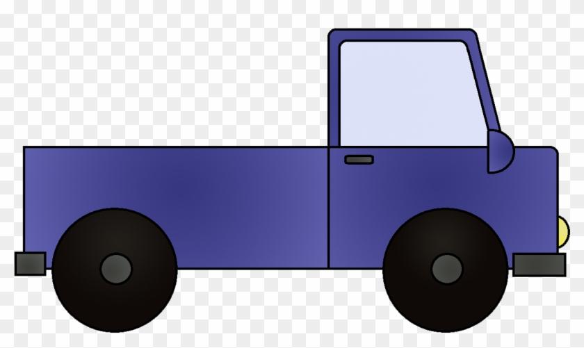 Cartoon Truck Transparent Background #292446