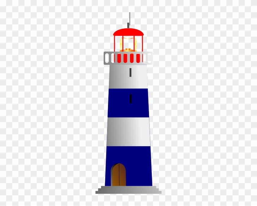 Lt House Clip Art - Black Striped Lighthouse Shower Curtain #292450