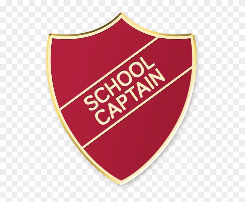 School Captain Shield £0 - Captain Badge, Badge Vintage, School Badge, Captain #292456