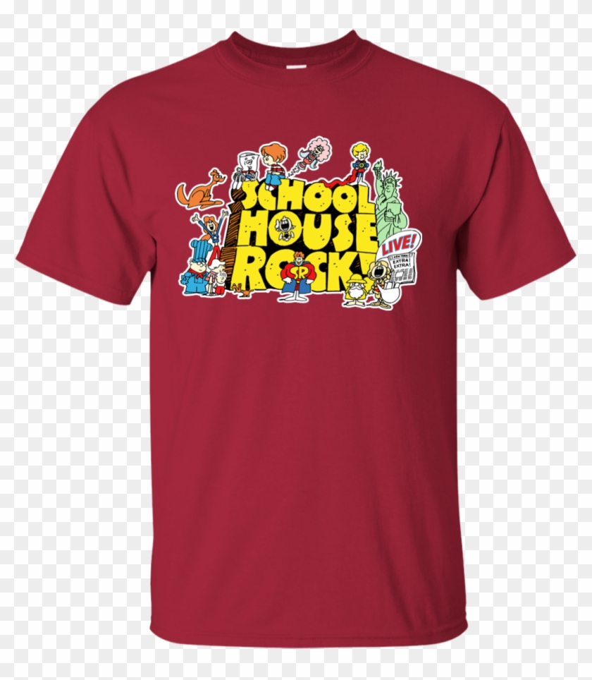 Schoolhouse Rock School Cartoon Education Educational - Github Pornhub Shirt #292462