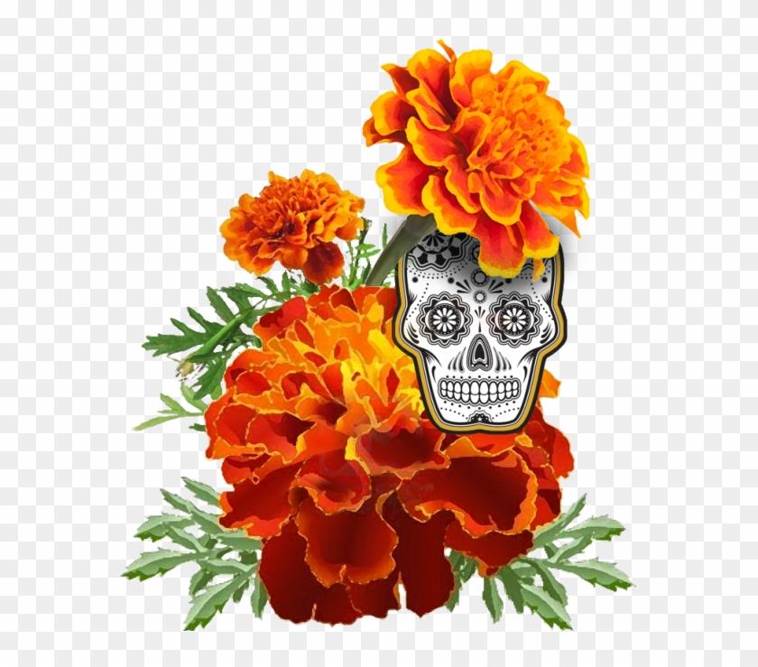 Clip Arts Related To - Dia De Los Muertos Skull #292465