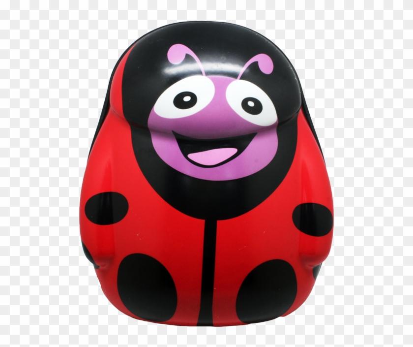 Cartoon School Bag Red Lady Bug - School #292468