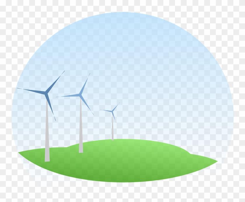 Wind Mills - Solar Energy Clipart Transparent #292539