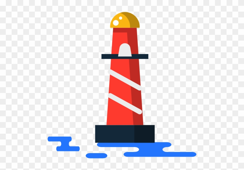 Lighthouse Free Icon - Lighthouse Flat Png #292565