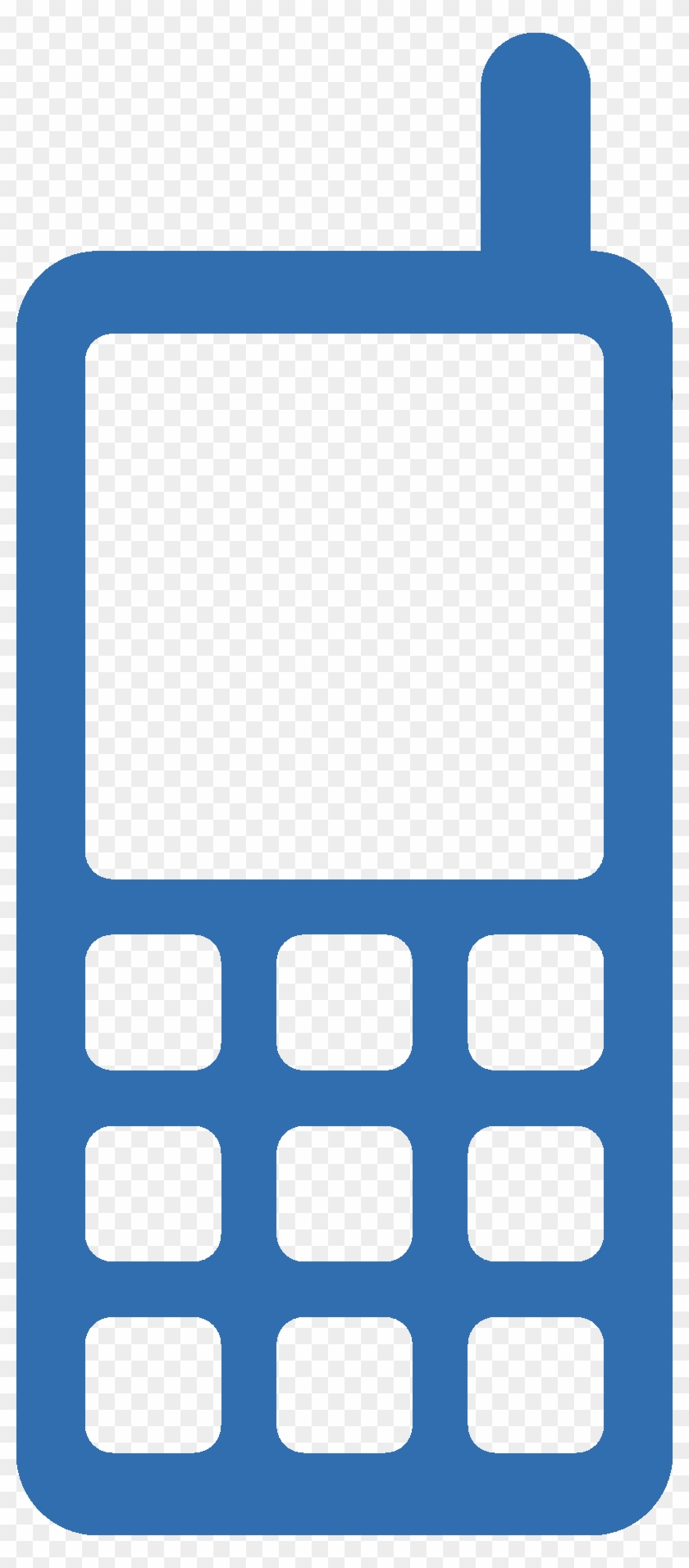 Contact Us - Mobile Icon Png Blue #292591