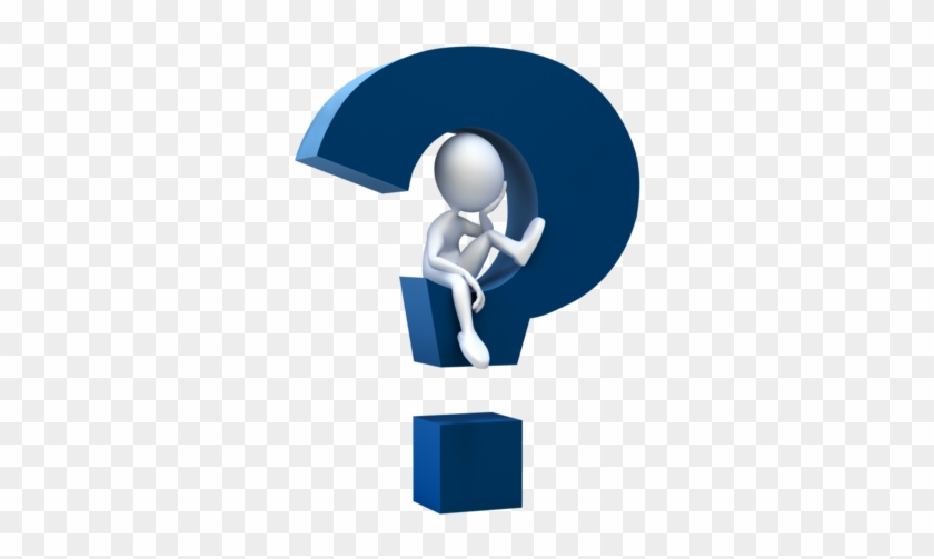 Thinking Clipart Transparent Background - Question Mark Clip Art #292592