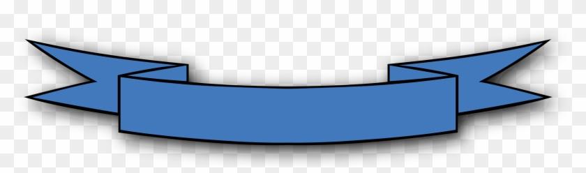 Blue Clipart Ribbon Banner Image - Pink Ribbon Banner Clipart #292598