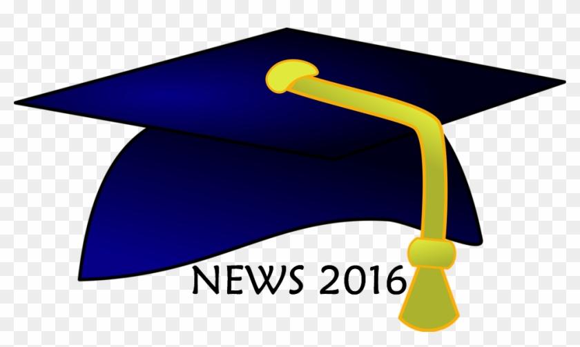 Grad 2016 Newsletter - Graduation Hat Clip Art #292616