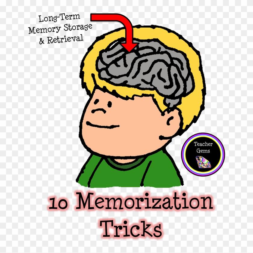 Memorization Study Skills Teacher Clip Art - Memorization Study Skills Teacher Clip Art #292638