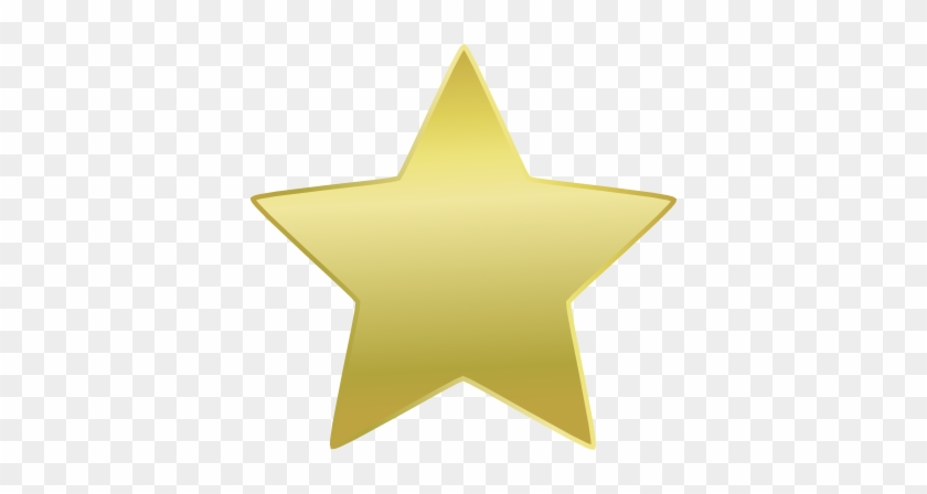 Clipart Gold Star - Gold Star Clipart Png #292643