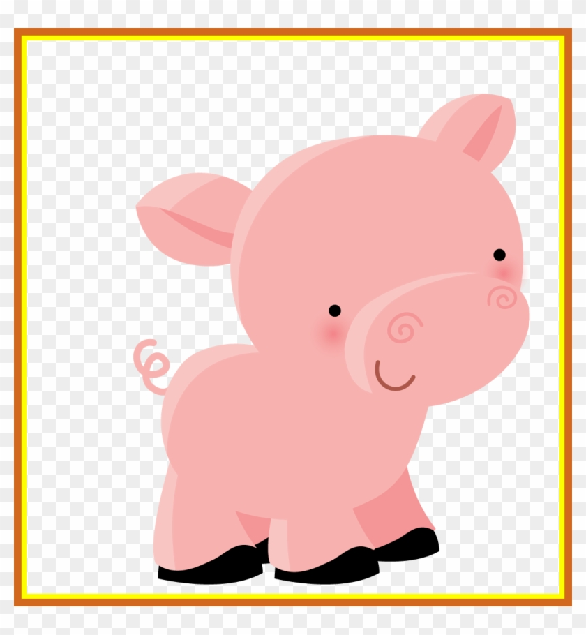 Inspiring Pin By Minecraft Lover On Pigs Clip Art Scrap - Dibujos Animales De La Granja Png #293285
