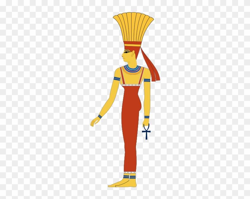 In Egyptian Mythology, Anuket Was Originally The Personification - Anuket Goddess #293291