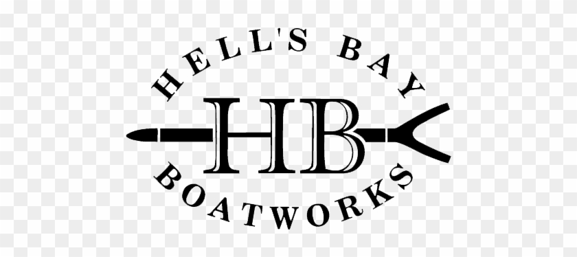 The Constant Flow From This River Makes The Mississippi - Hell's Bay Boatworks Logo #293466