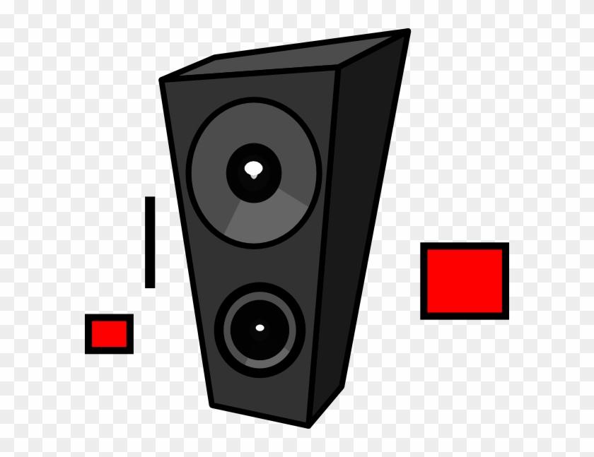 Dasda Clip Art - Cartoon Speakers #293571