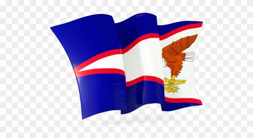Illustration Of Flag Of American Samoa - American Samoa Flag Gif #293687