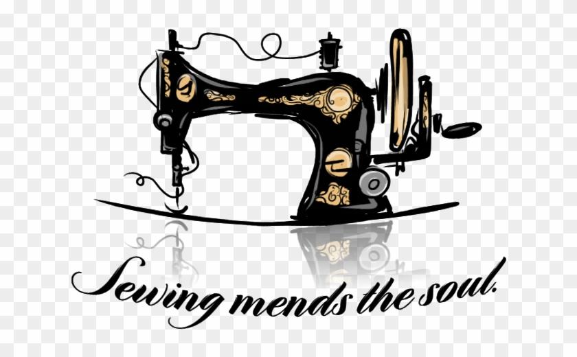 Left - Sewing Machine Retro #293851