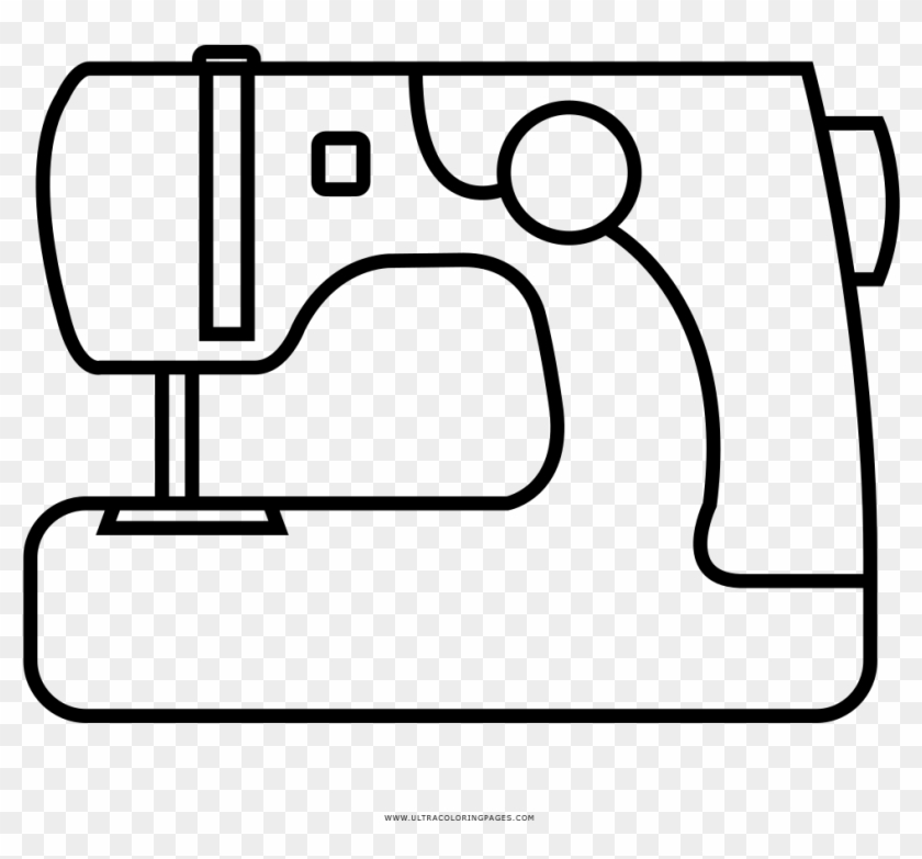 Sewing Machine Coloring Page - Sewing Machine Coloring Page #293896
