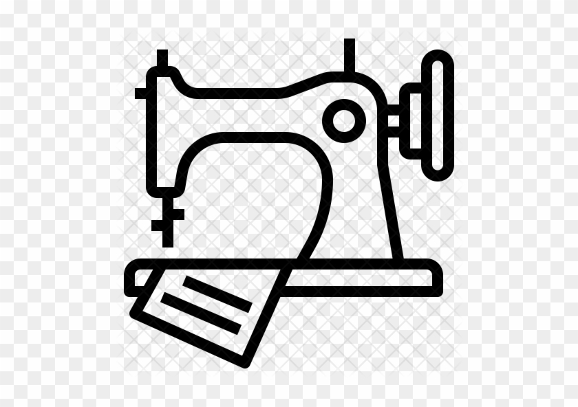 Sewing Machine Icon - Sewing Machine Icon Png #293933