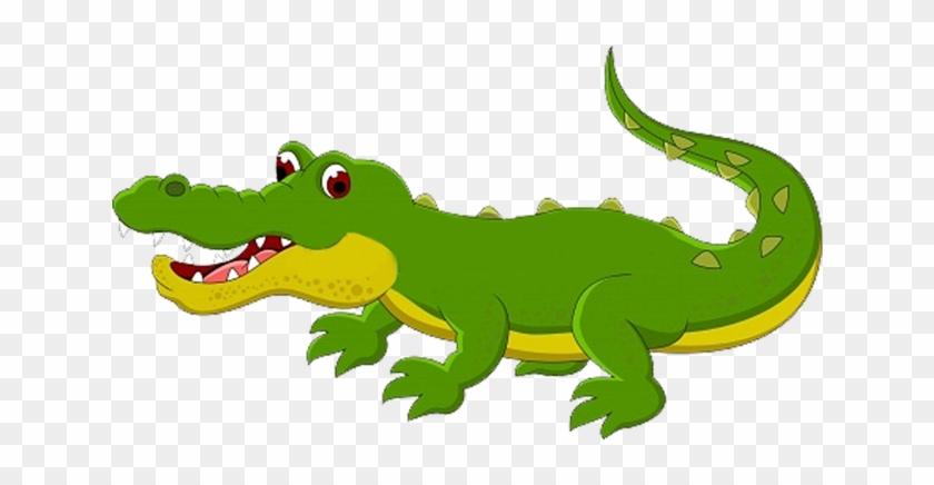 Crocodile Alligator Reptile Cartoon - Crocodile Alligator Reptile Cartoon #294045