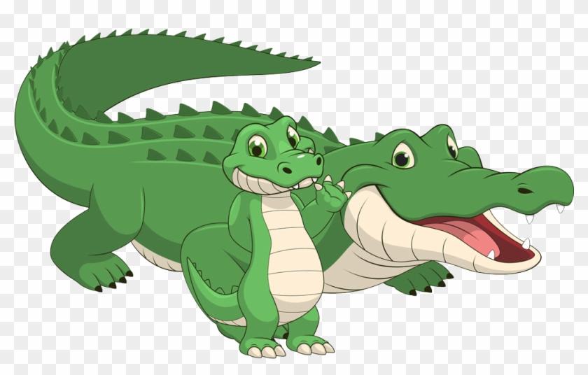 Crocodile American Alligator Reptile Cartoon - Crocodile American Alligator Reptile Cartoon #294134