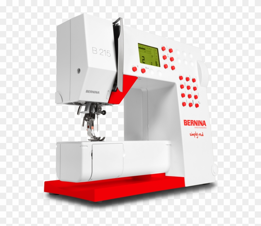 Images / 1 / 2 / 3 - Bernina Activa 215 Simply Red Sewing Machine #294106