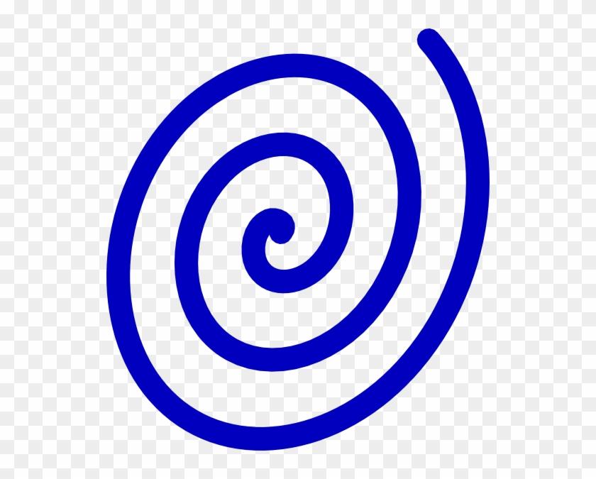 Blue Spiral Clip Art At Clker Com Vector Clip Art Online - Blue Spiral Clipart #294180