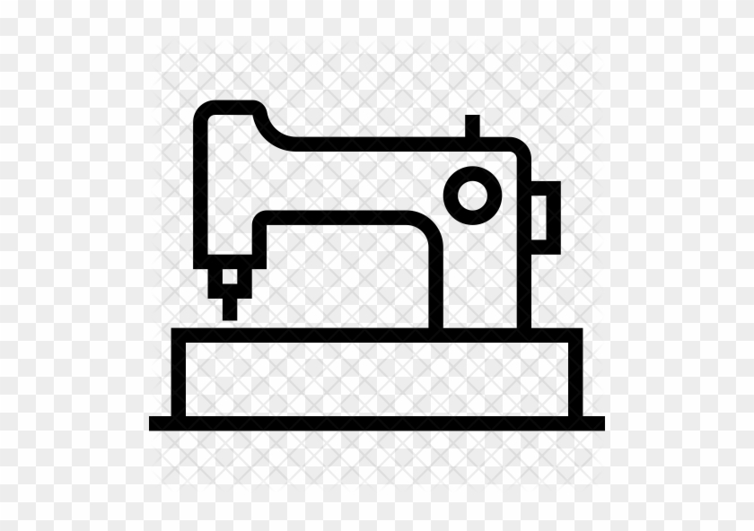 Sewing Machine Icon - Sewing Machine Outlime #294234