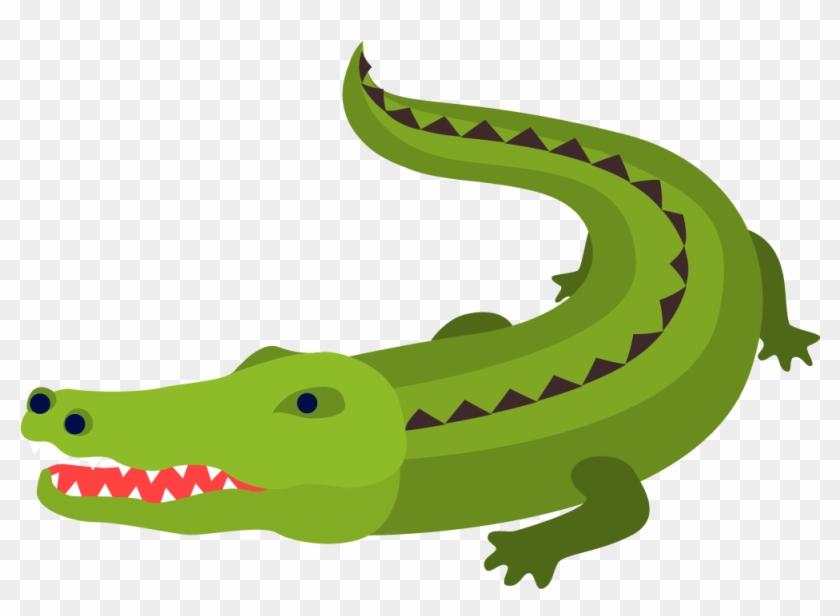 Crocodile Alligator Cartoon - American Crocodile #294251