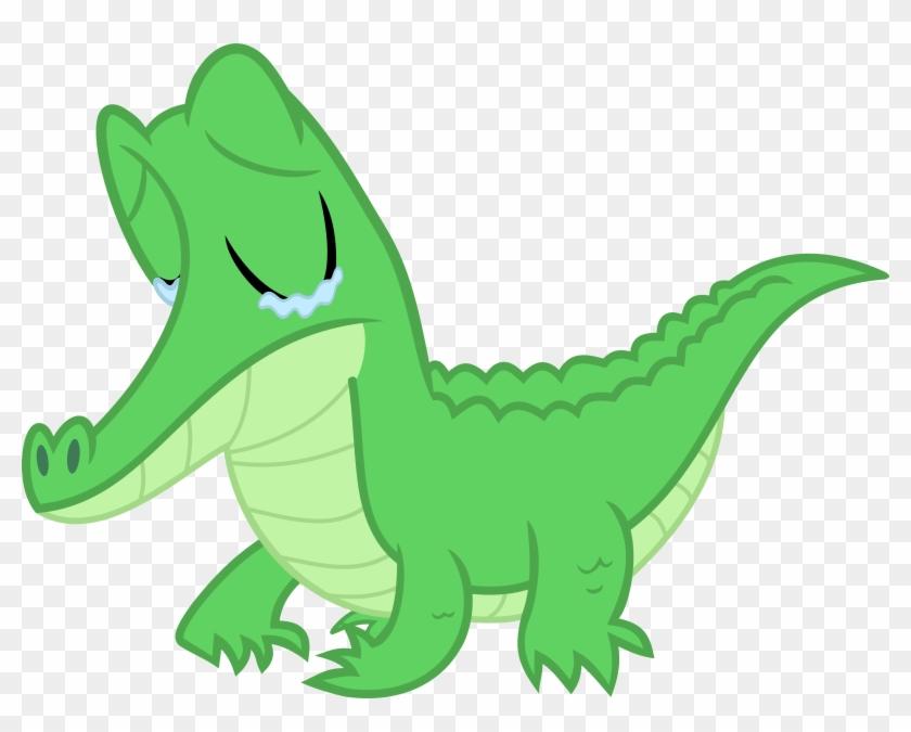 A Sad Little Gator By Porygon2z A Sad Little Gator - Sad Crocodile Cartoon #294276