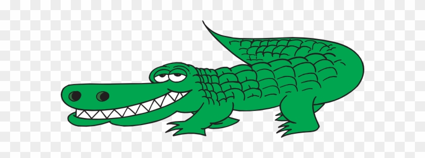 Cartoon Clipart Alligator - Crocodile Clipart #294282