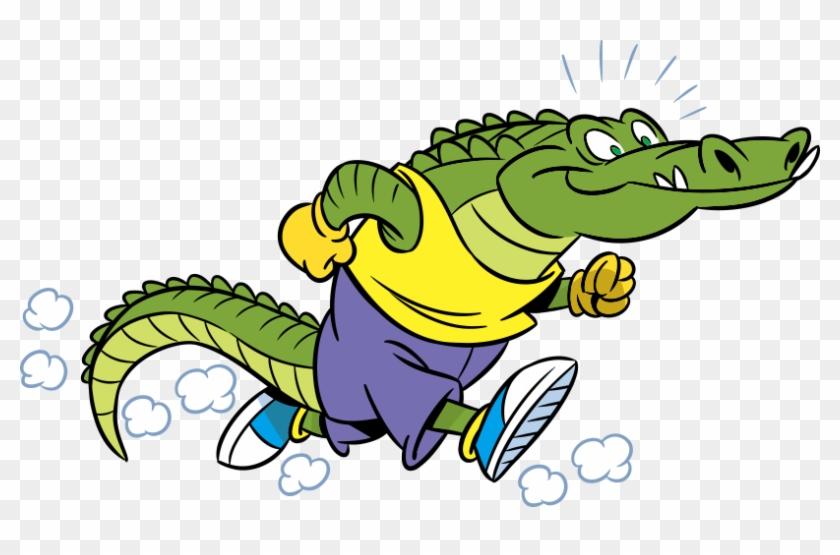 Crocodile Alligator Cartoon Illustration - Crocodile Alligator Cartoon Illustration #294330