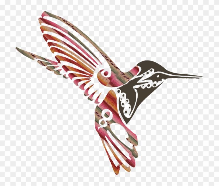 Q'enti Wasi House Of The Hummingbird - Tribal Hummingbird Tattoo #294326
