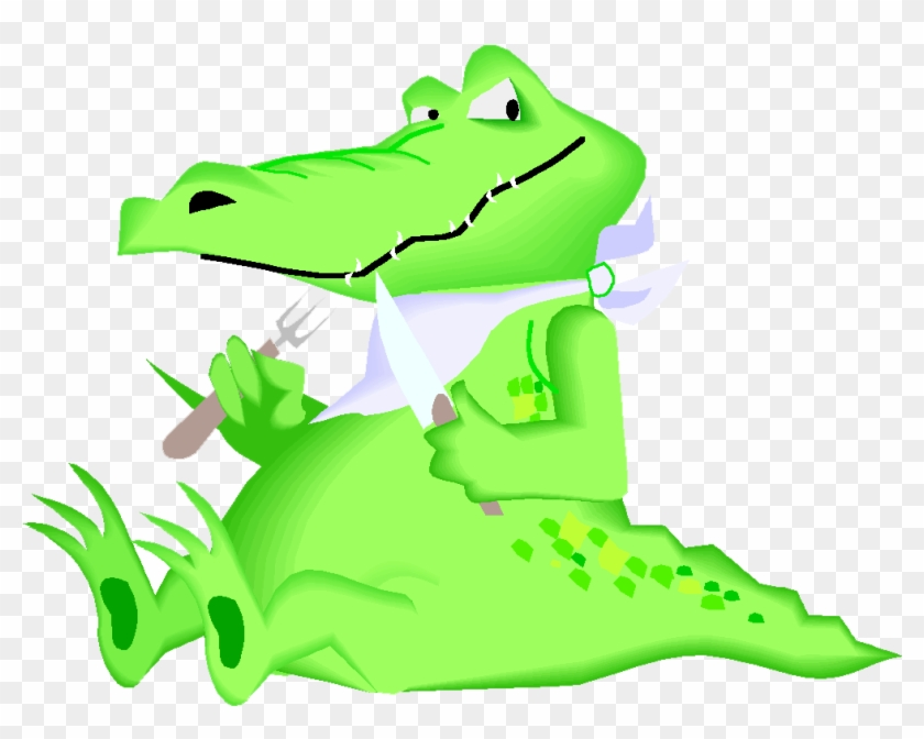 The Enormous Crocodile Alligator Cartoon Clip Art - Crocodile Cartoon #294411