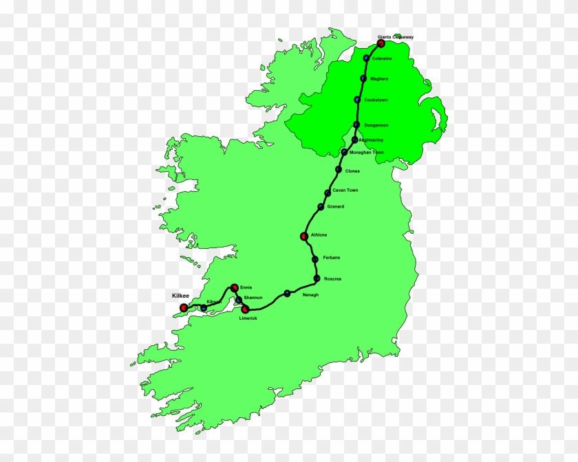 Map Of Ireland #294690