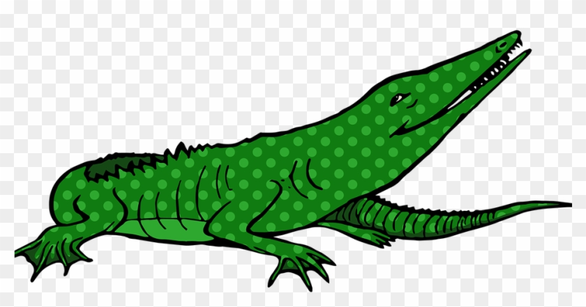 Alligator Cartoon 4, Buy Clip Art - Cartoon Alligator #294703