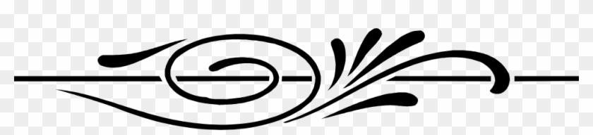 Wedding Program Clipart Graphic Design 40 - Divider Swirl #294764