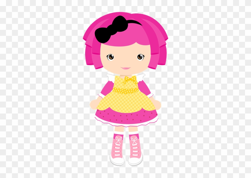 Cute Clipart, Lalaloopsy Party, Girl Cartoon, Girl - Pink Doll Clipart #295290