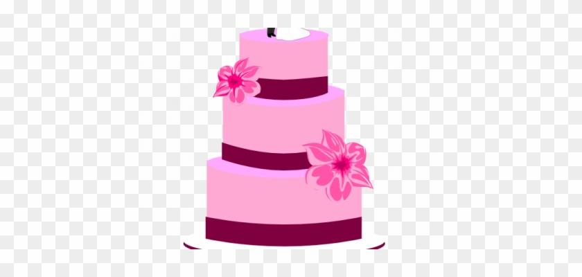 Wedding Cake Pink Clip Art Pink Wedding Cake Clipart Bolo