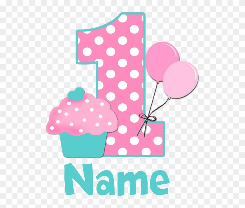 Graphics For 1st Birthday Cupcake Graphics - 1st Birthday Clipart Png #295769