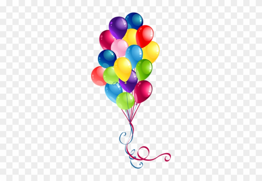 38 - Party Balloons Clipart #295821