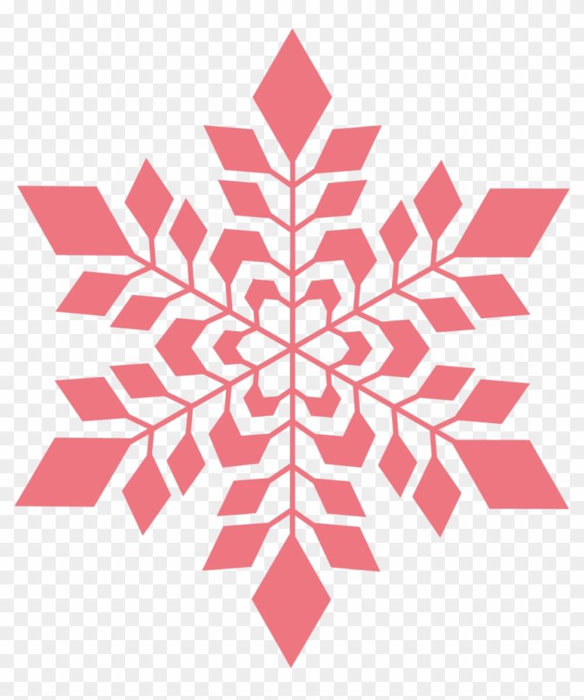 Snowflake Transparent - Pink Snowflake Transparent Background #295903