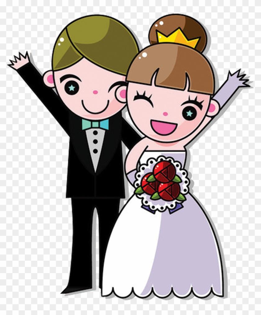 Днем, прикольные рисунки жениха и невесты