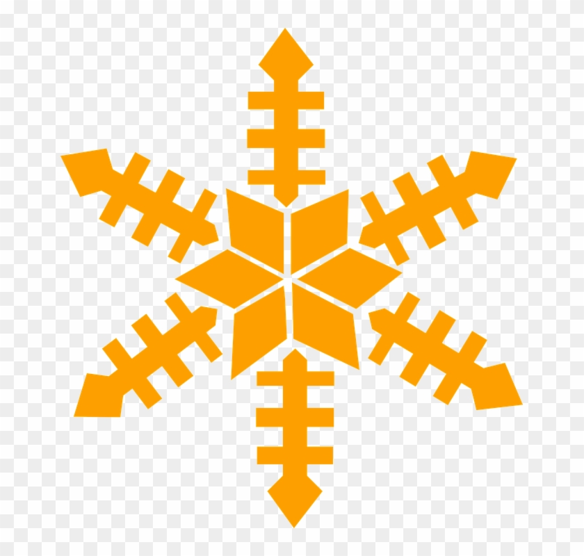 Snowflake Images Clipart 10, - Winter Snowflake Embroidery Design #296194