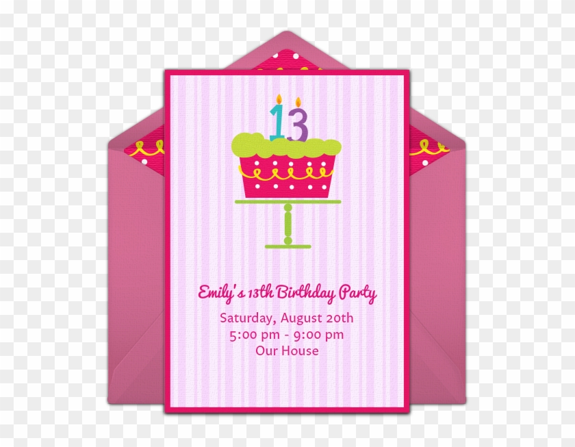Gotta Love This Pretty Pink 13th Birthday Party Invitation